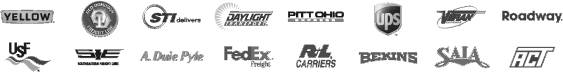 Motor Freight logos for shipping
